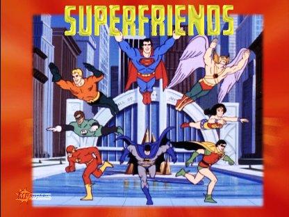 Você tem amigos? Tenho Super Amigos!