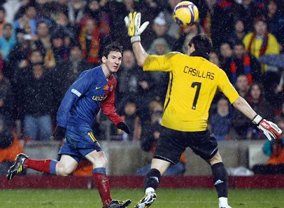 Gol de cobertura contra o Real Madrid