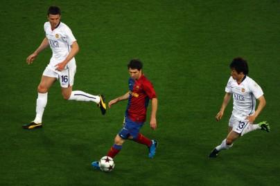 Messi na final da UCL 08/09