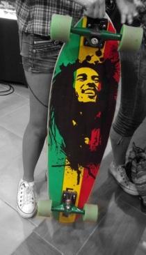 """O long me traz paz de espírito e gangrena"" Marley, Bob."